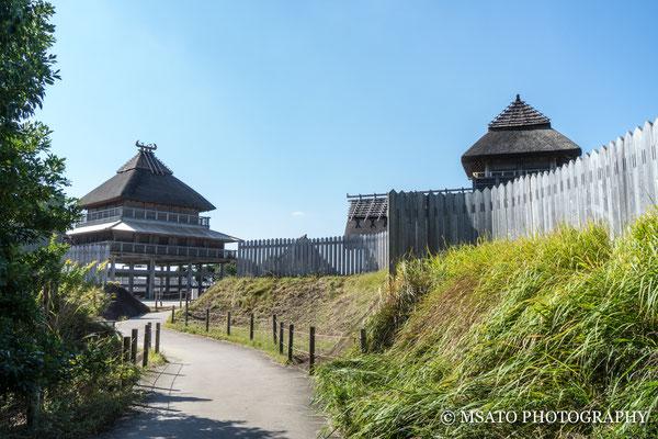 41 - Província de SAGA. Sítio arqueológico Yoshinogari. O extenso Parque histórico conta com inúmeras construções do Período YAYOI(300 BC - 300 AC).