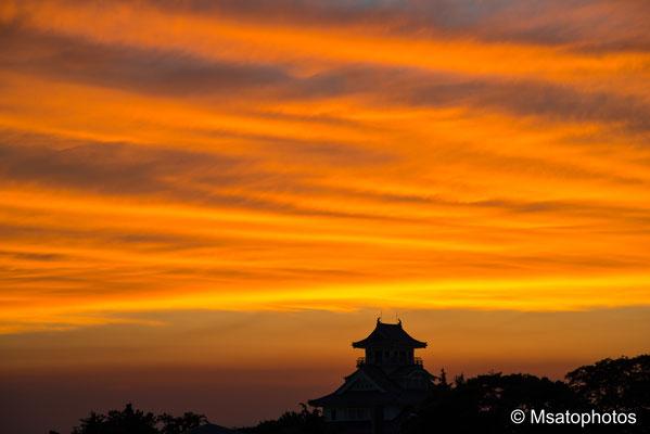 SHIGA Province - Nagahama city, castelo de Nagahama.