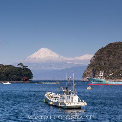 SHIZUOKA Province - Monte Fuji visto a partir da península de Izu_02