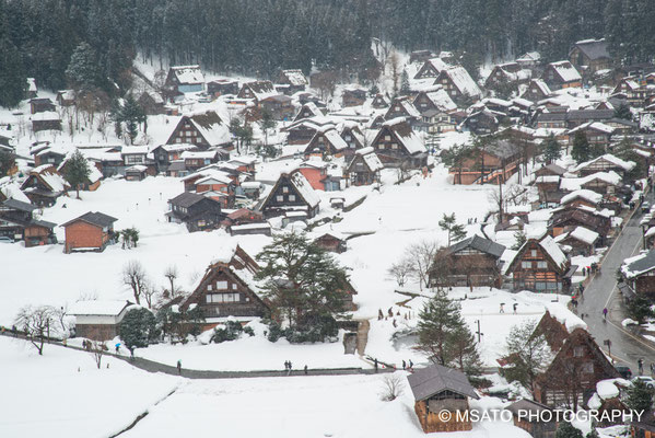 Shirakawago, fotografado no dia 26 de janeiro, província de Gifu(23)