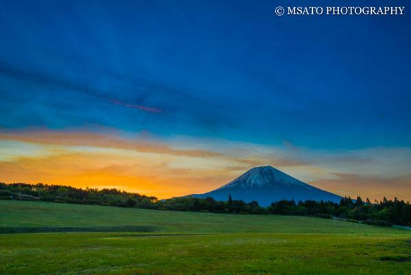 12 de maio a partir das planície Asahi, província de Shizuoka(21).