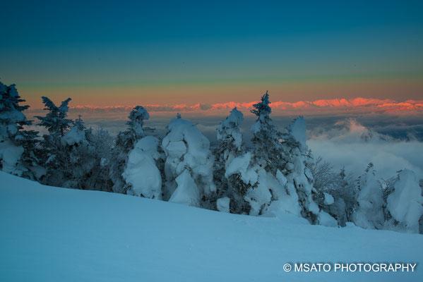 Planícies de Shiga, fotografado no dia 29 de janeiro, província de Nagano(16)