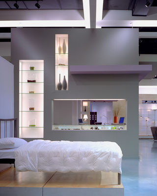 Wall and fixture design
