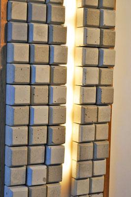 RHYTHIM Wandlampe_ Eiche_ LED_ 32cm x 17cm x 4cm_ Preis: 140€