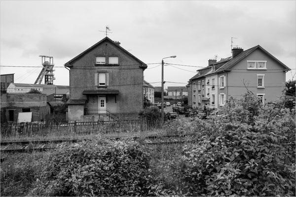 Aumetz, Lothringen (Eisenerz-Grube, geschlossen)