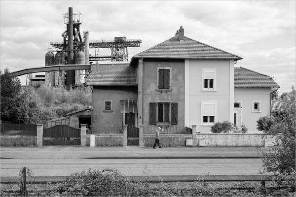 Uckange, Lothringen (Stahlhütte, geschlossen)