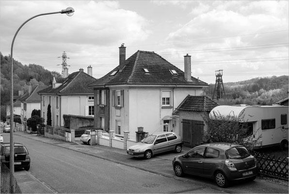 Merlebach, Lothringen (Steinkohle-Grube, geschlossen)