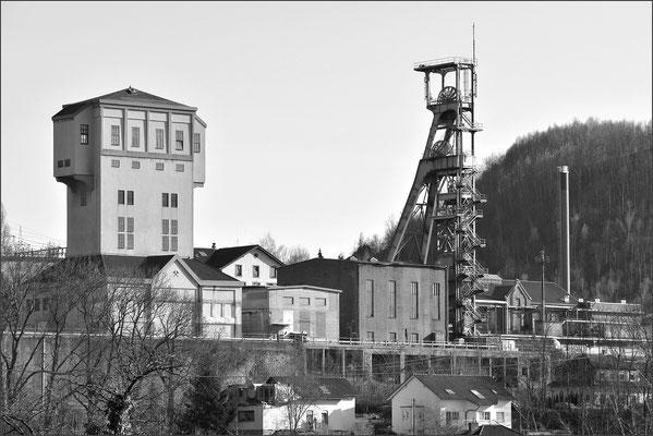 Fördertürme im Saarland