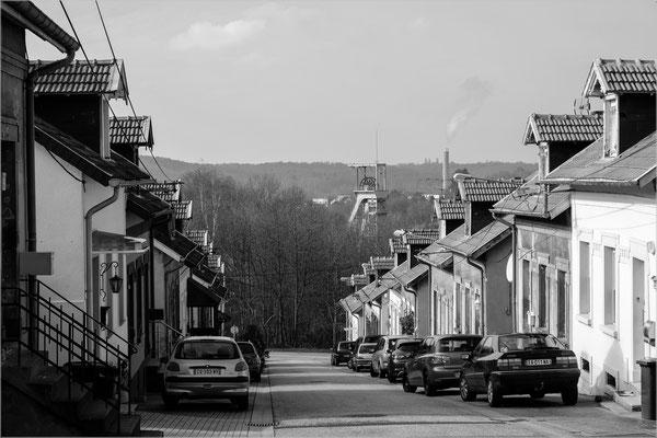 Petite-Rosselle, Lothringen (Steinkohle-Grube, geschlossen)
