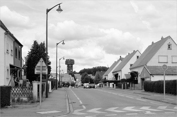Folschviller, Lothringen (Steinkohle-Grube, geschlossen)
