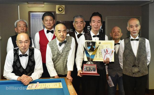 ブログは毎日更新!それ以外では……To All Readers,〈BD〉肥田明、3連覇で5度目の優勝! 『全日本シニア3C』