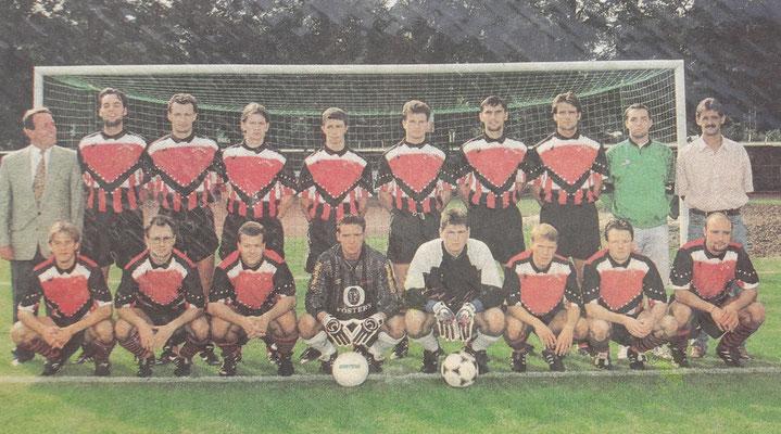 Fussball Mannschaft Herzog