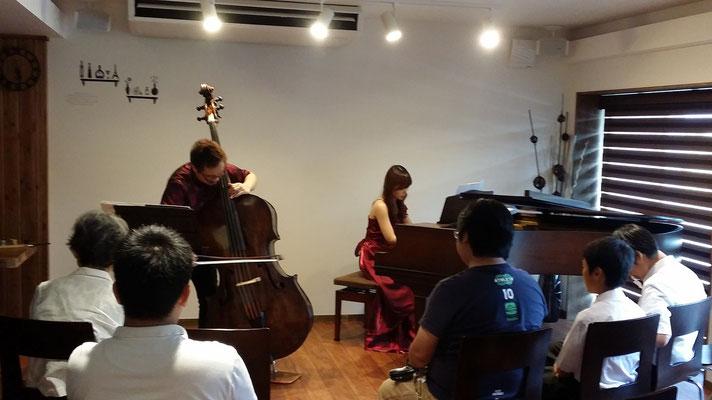 2015.8  森田良平コントラバスコンサート2015 Summer