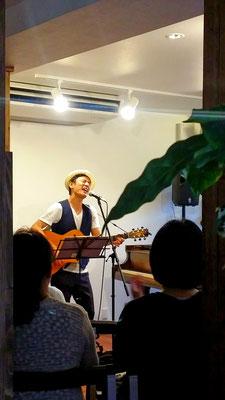 2017.7 シンガーソングライター丸石輝正Live