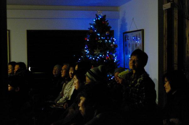 2014.12 キャンドルコンサート③ツリーの灯りの中で・・・♡