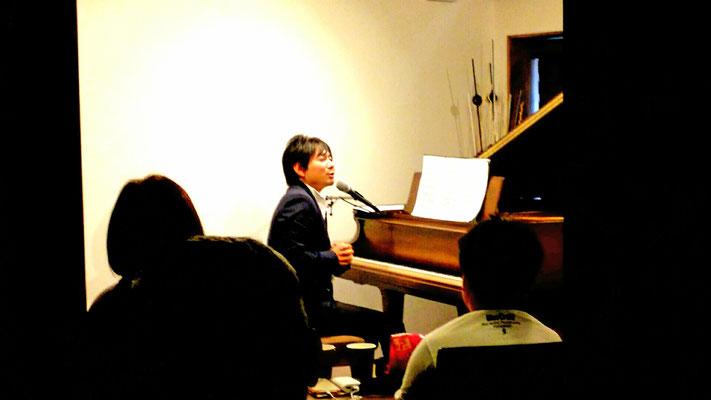 2017.10 TOUMA ピアノ弾き語りライブ