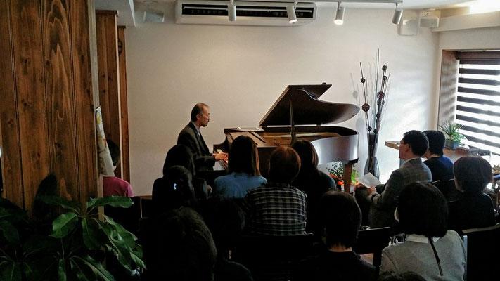 2014.10 クナーベイベント①古典鍵盤楽器奏者・筒井氏♪