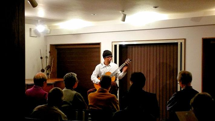 2016.11 金谷幸三クラシックギターの夕べ