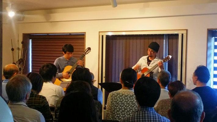 2016.8 金谷幸三×徳永真一郎ギターデュオコンサート
