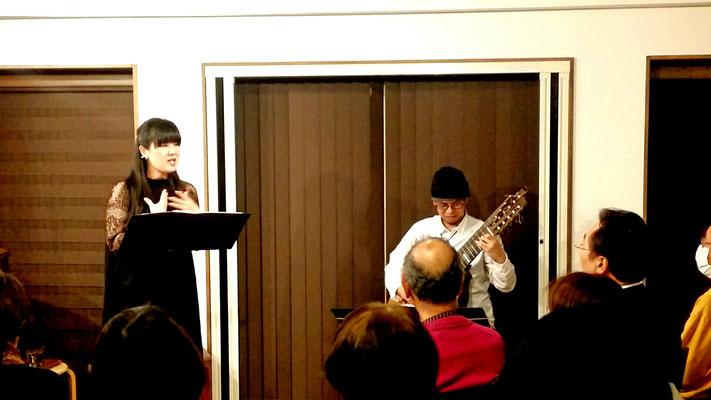 2017.2 Mizu×Yume 古楽ソプラノと11弦ギターによる癒しの時間