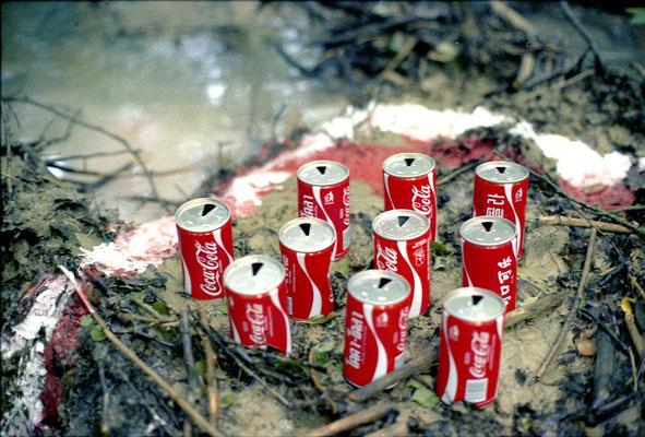 """Jürgen Wegener - """"Die harmlosen Bilder""""- columbianische cola-plantage bei ziegenberg"""