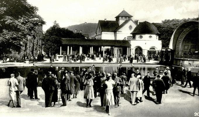 Trinkkuranlage, Foto von Familie Werle, Online-Museum Bad Nauheim