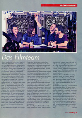 Streifzug-WZ August 2015 / Crowdfunding, Text: Sabrina Dämon, Foto: privat