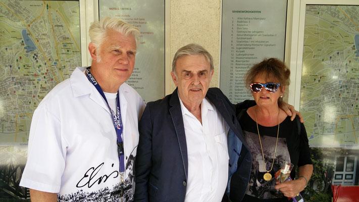 Claus-Kurt Ilge, Klaus Neuhöfer, Elvira, Foto: Beatrix van Ooyen, 16.08.2016