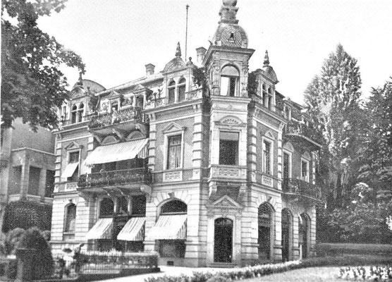 Rita Issberner-Haldane - Hotel Grunewald Bad Nauheim, Foto: ONLINE-MUSEUM BAD NAUHEIM