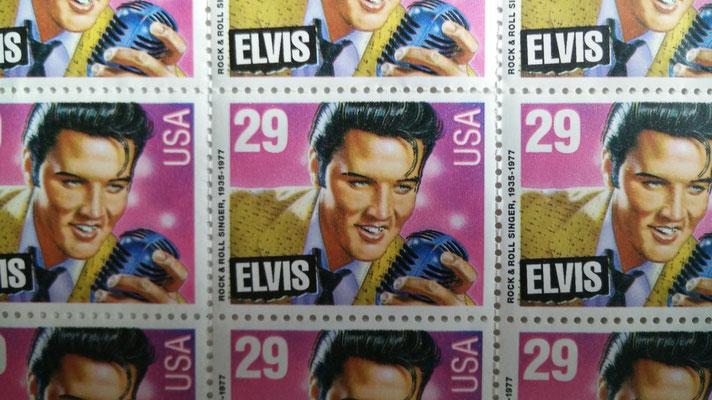 Elvis-Briefmarken, Schenkung Rolf Herz