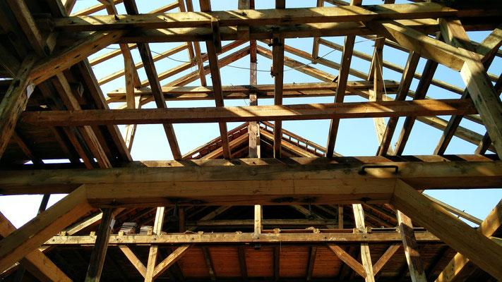 Dachunterseite Salinengebäude - 11.09.2016, Foto: Beatrix van Ooyen