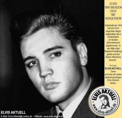 ELVIS AKTUELL - E-Mail: Elvis-Aktuell@t-online.de – Website: www.elvis-aktuell.de