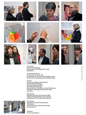 Dokumentation der Ausstellung AUSGEZEICHNET!, Kunstverein Bad Nauheim, Vorsitzender: Klaus Ritt, Fotos: Jürgen Wegener, p4/4