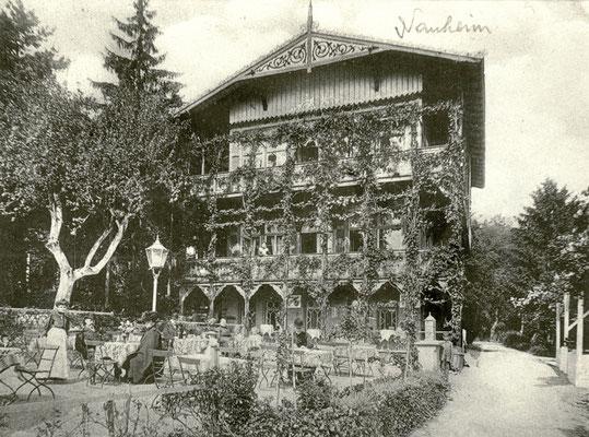 Hotelgaststätte in Bad Nauheim, Foto von Familie Werle, Online-Museum Bad Nauheim