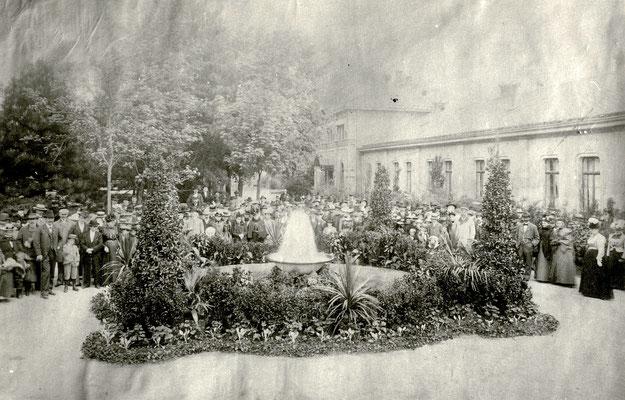 """Einweihung """"Neuer Sprudel"""", Foto von Familie Werle, Online-Museum Bad Nauheim"""