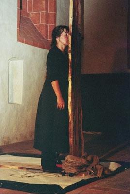 Barbara Wilhelmi - Performance 2007, Foto: Y. Wahl