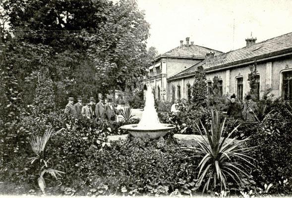 """""""Neuer Sprudel"""" 1905, Foto von Familie Werle, Online-Museum Bad Nauheim"""