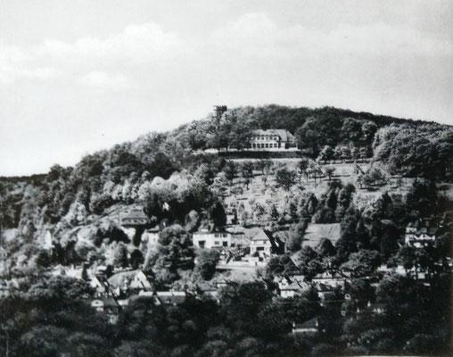 Johannisberg - Hangmitte: Höhenweg 11 und 9 - Sammlung Michaela Jüdell, Digitale Leihgabe ans ONLINE-MUSEUM BAD NAUHEIM, Foto: Beatrix van Ooyen
