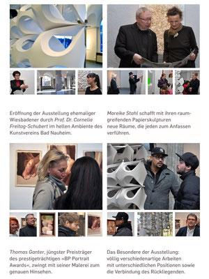 Dokumentation der Ausstellung AUSGEZEICHNET!, Kunstverein Bad Nauheim, Vorsitzender: Klaus Ritt, Fotos: Jürgen Wegener, p2/4