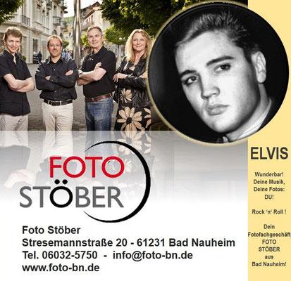 Elvis und Foto Stöber   Stresemannstraße 20 - 61231 Bad Nauheim, Tel. 06032-5750  -  info@foto-bn.de    www.foto-bn.de