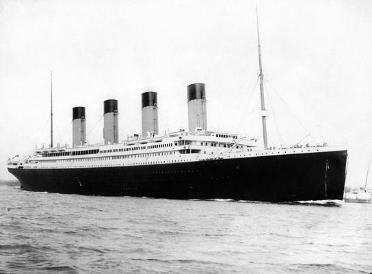Titanic, Foto von F.G.O. Stuart, 10.04.1912