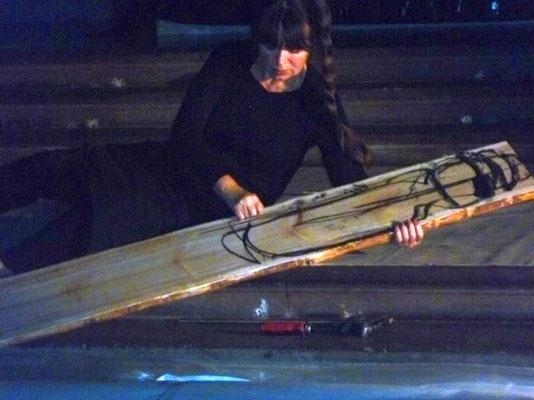 Barbara Wilhelmi - Performance 2012, Foto: G. Kilger