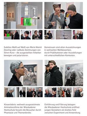 Dokumentation der Ausstellung AUSGEZEICHNET!, Kunstverein Bad Nauheim, Vorsitzender: Klaus Ritt, Fotos: Jürgen Wegener, p3/4