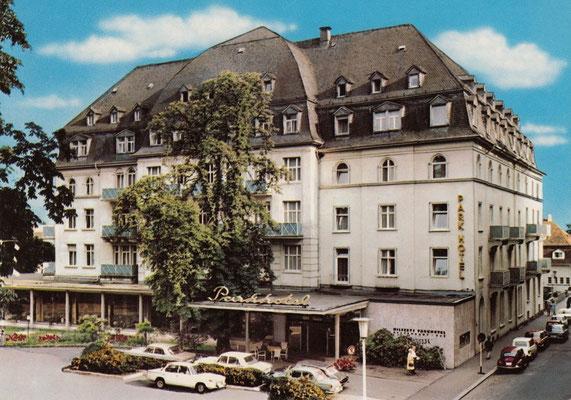 Elvis erstes Hotel in Bad Nauheim: Das Parkhotel, heute ersetzt durch das Kurpark-Plaza, Digitale Leihgabe von Rüdiger Puls