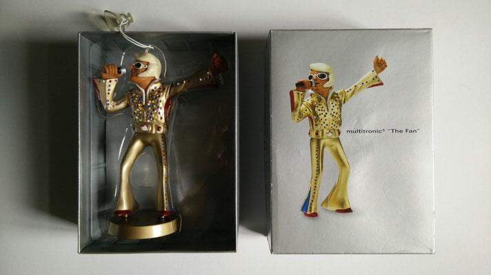 """Wackel-Elvis von Audi: """"Multronic-Puppe """"Der Fan"""""""", 2001, Schenkung Rolf Herz"""