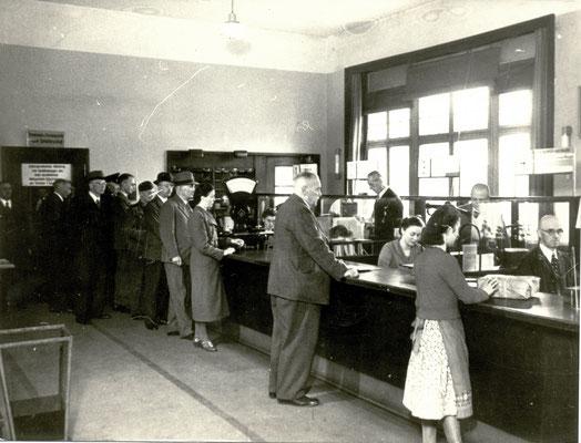 Postamt Bad Nauheim, Foto von Familie Werle, Online-Museum Bad Nauheim