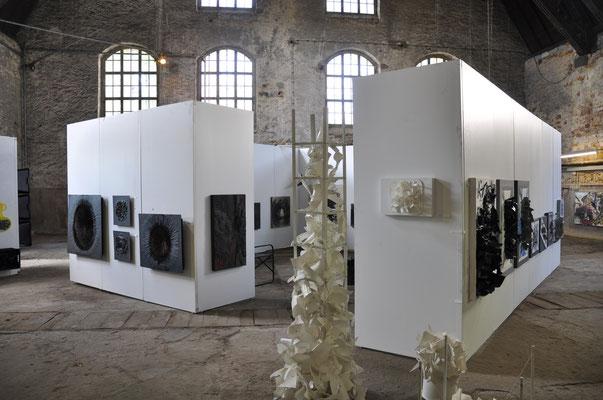 Jürgen Wegener 1957 - 2015 im Salinengebäude, Am Goldstein 1, Bad Nauheim, Foto: Jürgen Wegener