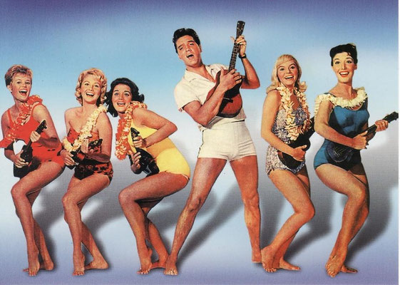 "Elvis-Film ""Blue Hawaii"" - 1961 - gepostet vom ELVIS TEAM BERLIN - September 24th 2014"