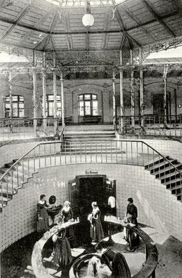 """""""Cur-Brunnen"""" Bad Nauheim, Foto von Familie Werle, Online-Museum Bad Nauheim"""