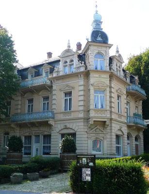Hotel, bzw. Villa Grunewald, Foto: Beatrix van Ooyen